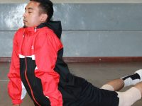 Image showing a player doing work-out while in training session